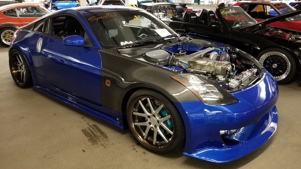 SPEEDTECH 350Z RB26 SWAP