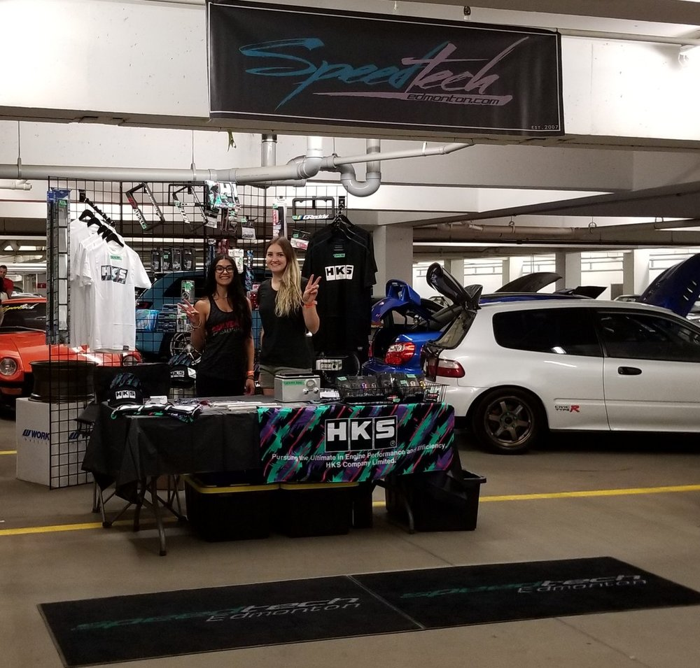 speedtech driven yeg edmonton booth