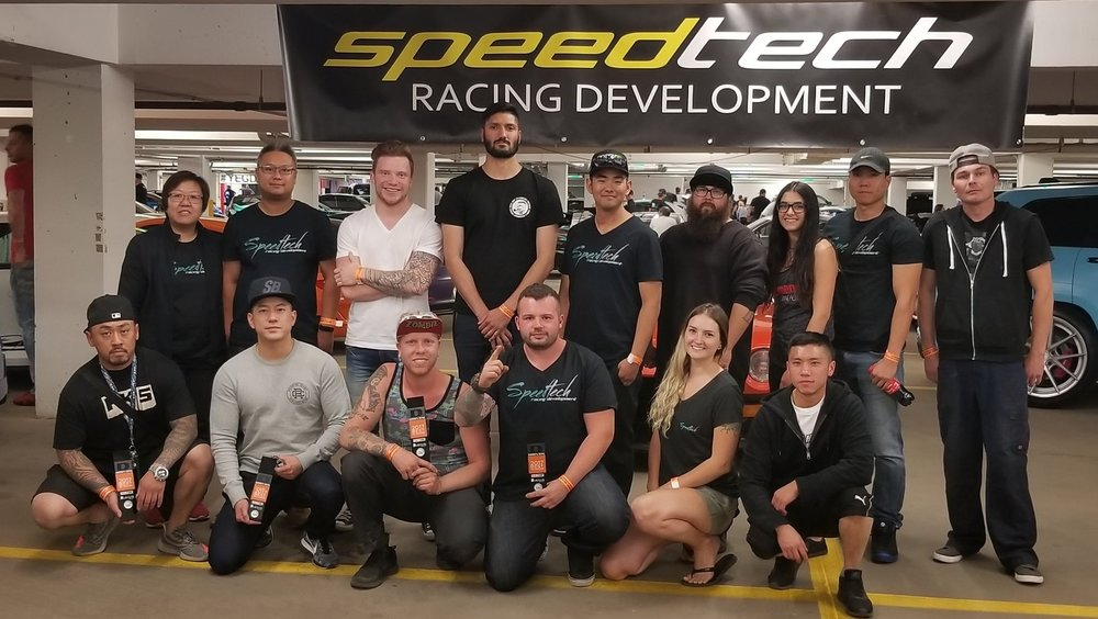 Driven Edmonton 2017 - Speedtech booth