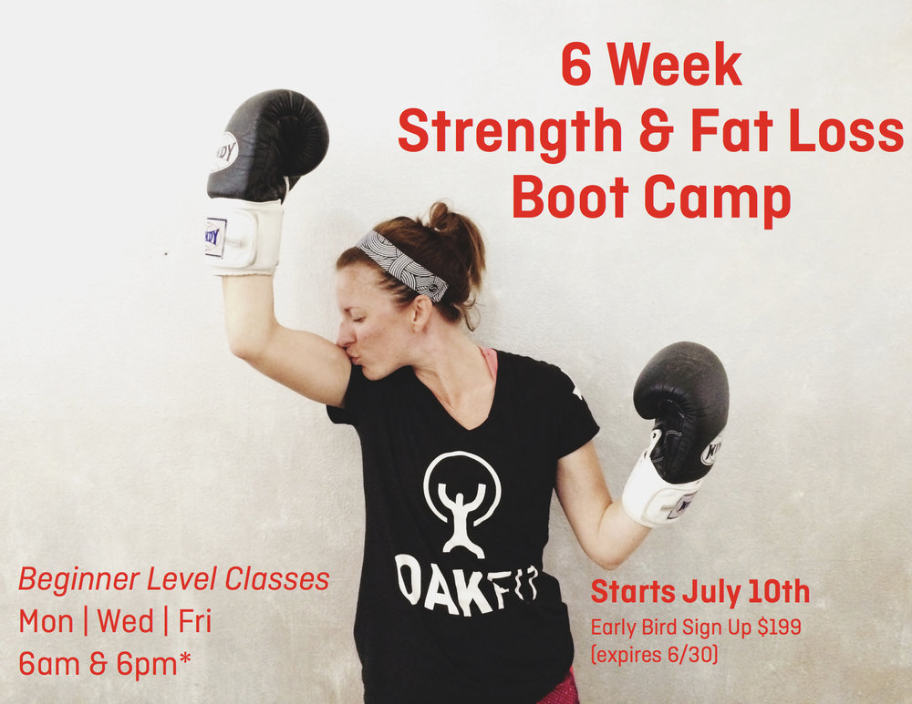 fat loss boot camp