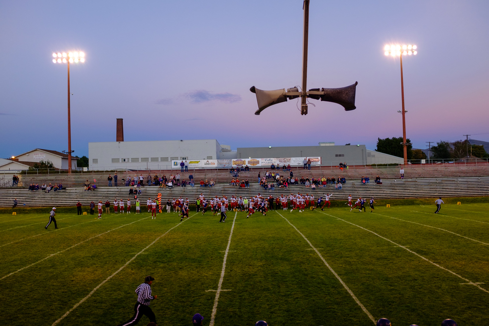 Friday night football, Baker City