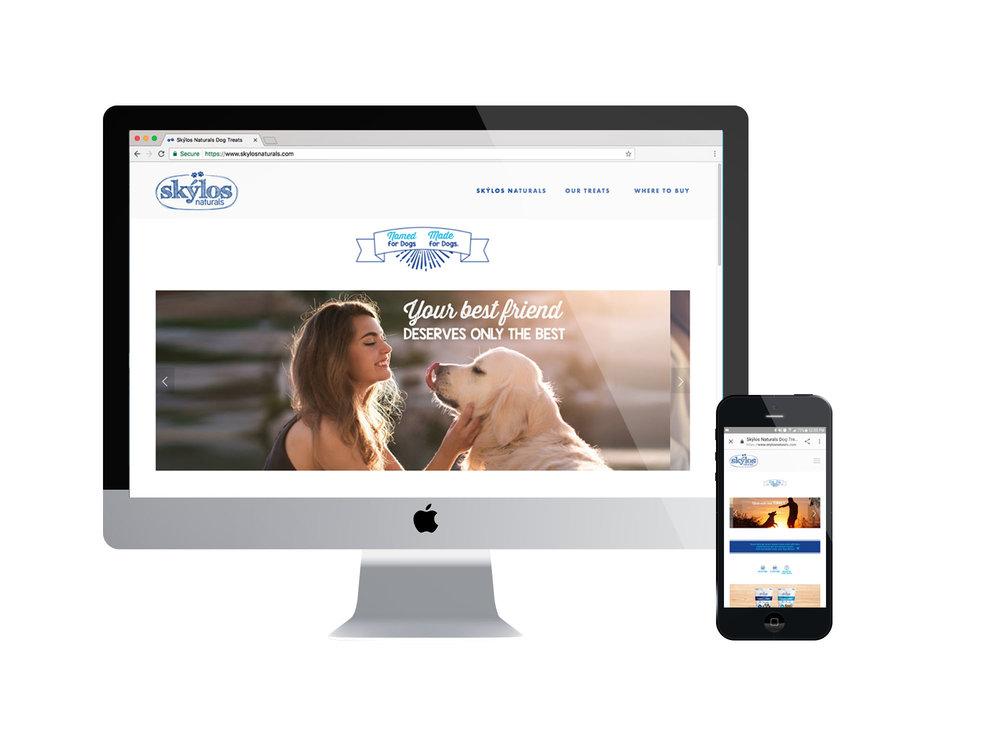 Skylos Naturals Website