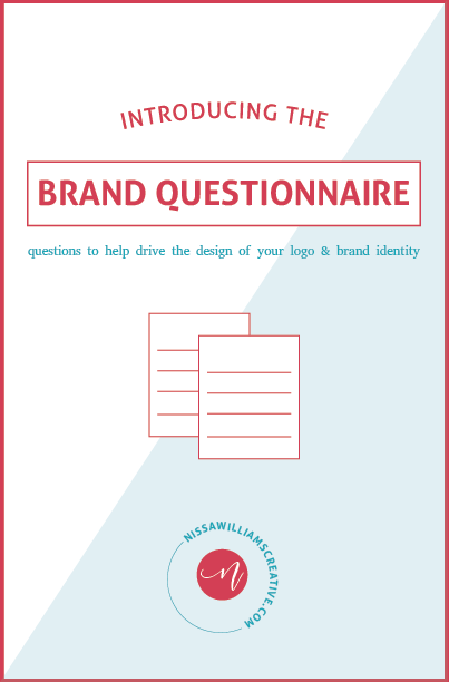 download a free brand questionnaire + get clear on your brand's identity! - Sign up below & get your free PDF planner!