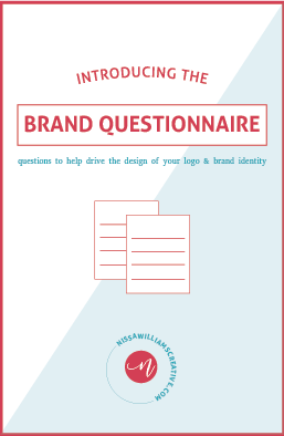 DOWNLOAD A FREE BRAND QUESTIONNAIRE + GET CLEAR ON YOUR BRAND'S IDENTITY! - Sign up below & get your free planner!