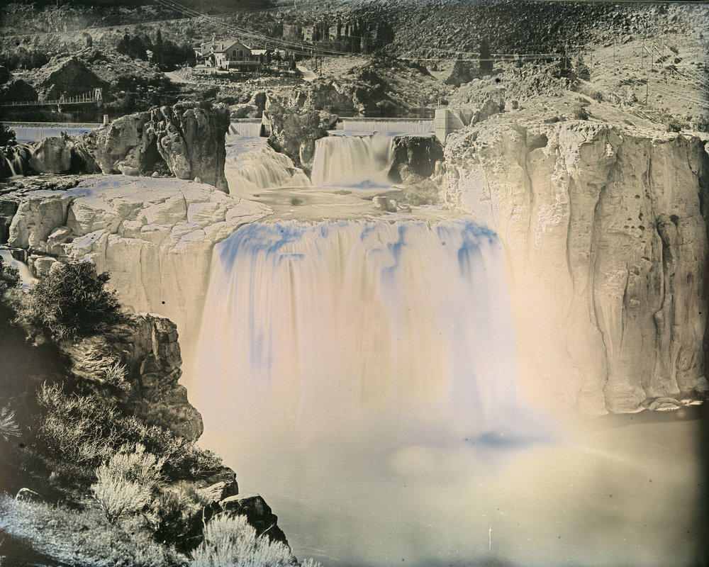 Image © Binh Danh. Shoshone Falls ,  Idaho . Daguerreotype, 6.5 x 8.5 inches, 2016. Courtesy of the artist, Haines Gallery, and Lisa Sette Gallery.