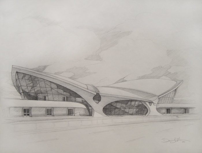TWA Terminal drawing