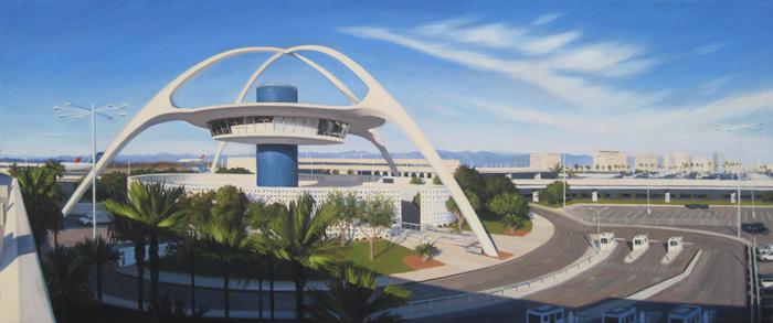 LAX Theme Building - Parking Gate