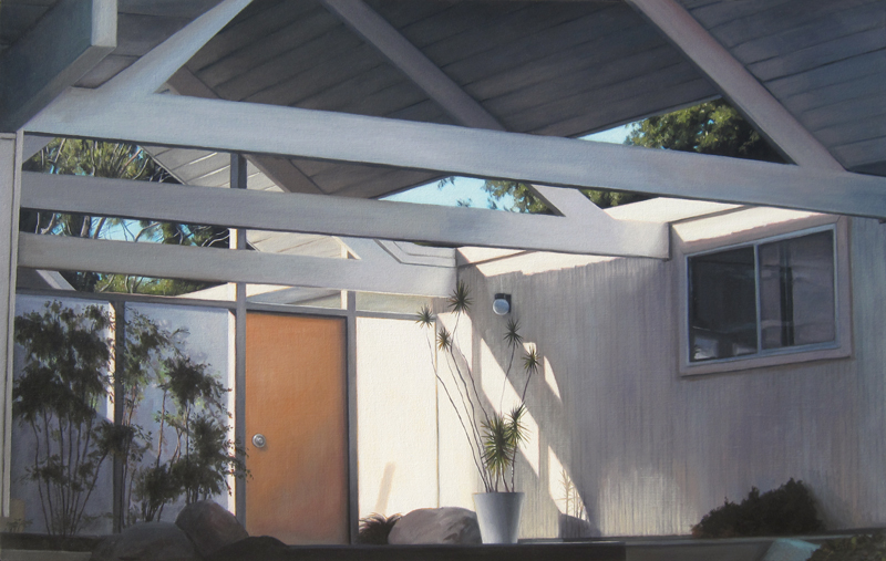 Eichler Carport Interior #2