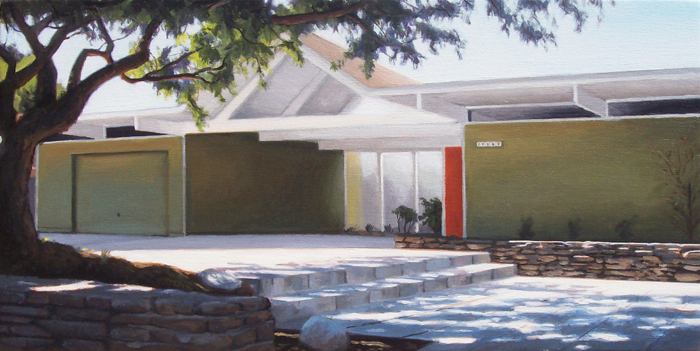 Eichler With Coral Tree