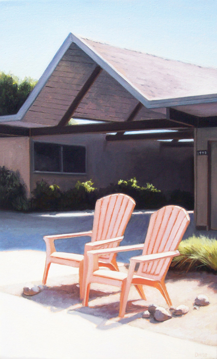 Eichler With Adirondack Chairs