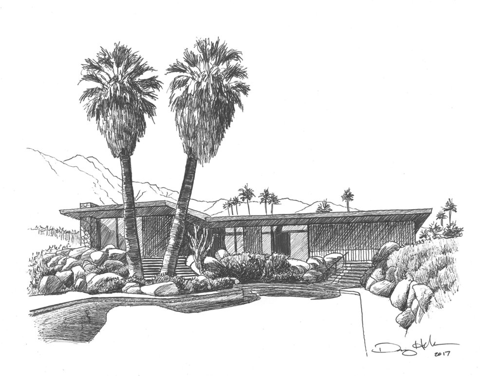 Edris House Drawing