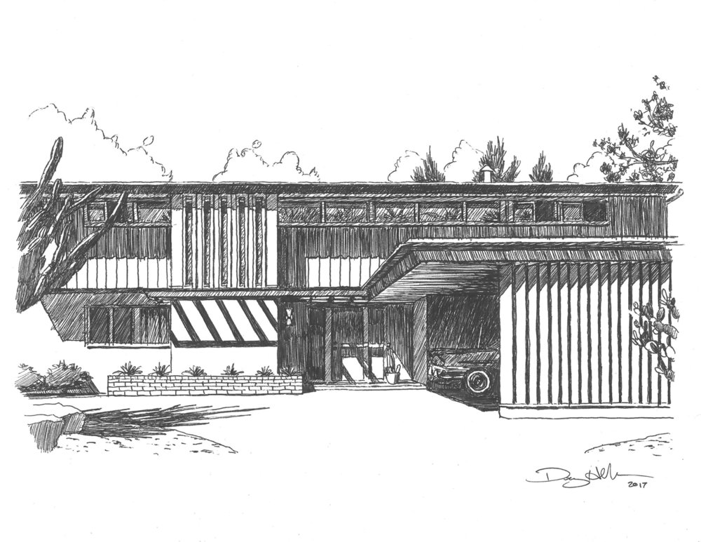 Williams Residence Drawing