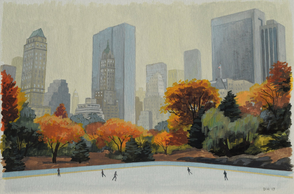 Central Park Rink Study 2