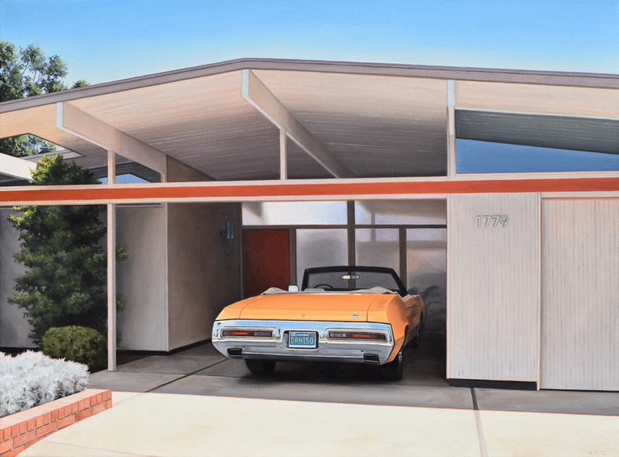 Eichler With Convertible
