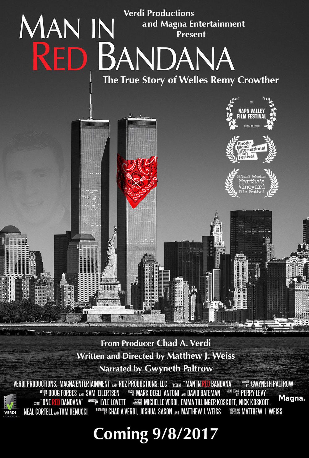 Man In Red Bandana (80 minutes, PG13), award-winning film that is guaranteed to engage, educate and inspire.
