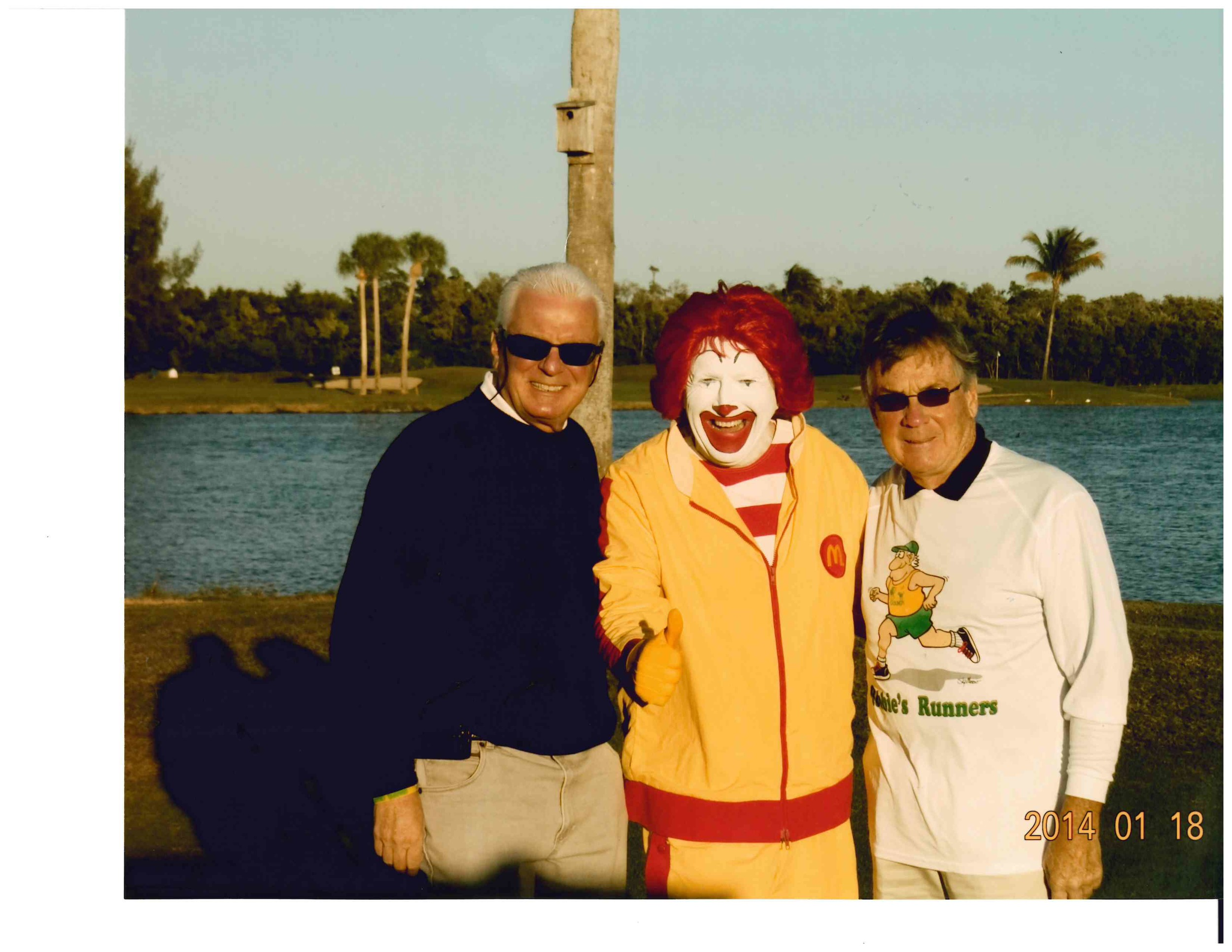 Frank and Jim with Ronald