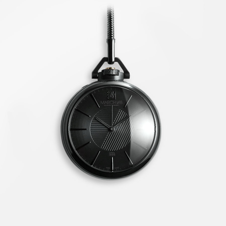 March LA.B Pocket Watch