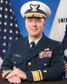 Rear Admiral Steven D. Poulin