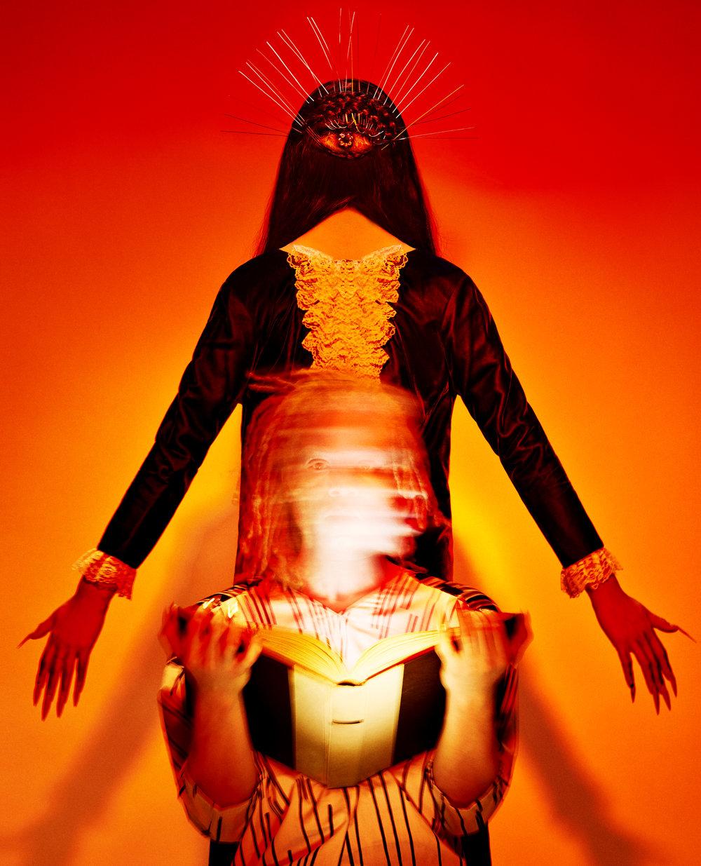 """Julia Comita x TwistedLamb- """"Knowledge""""- 26x32- Digital Inkjet Print- Edition of 3- 2016- $3500.jpg"""