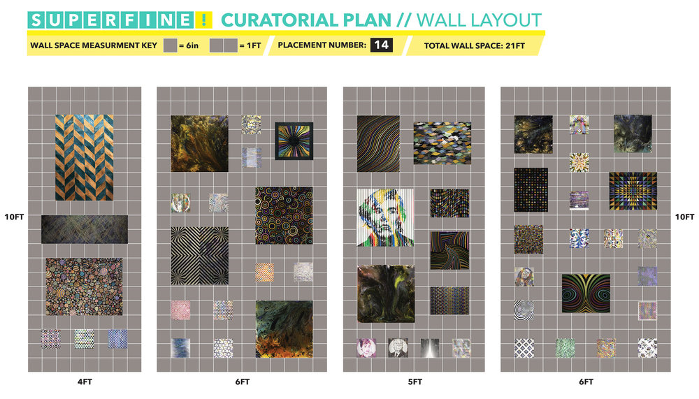 HUE Gallery of Contemporary Art's curatorial plan in preparation of Superfine! Miami 2017