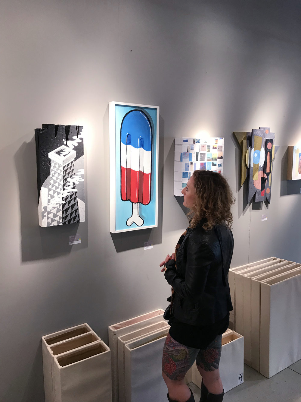 Contemporary art goes beyond exhibitions and galleries