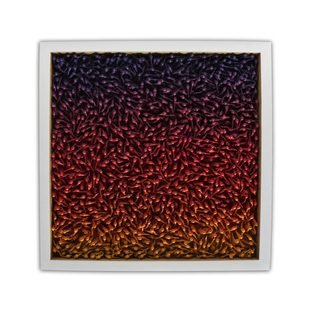 abbyElizabeth_chaos at sunset_15x15_plastic army men and enamel paint on aluminum_2018_800.jpg