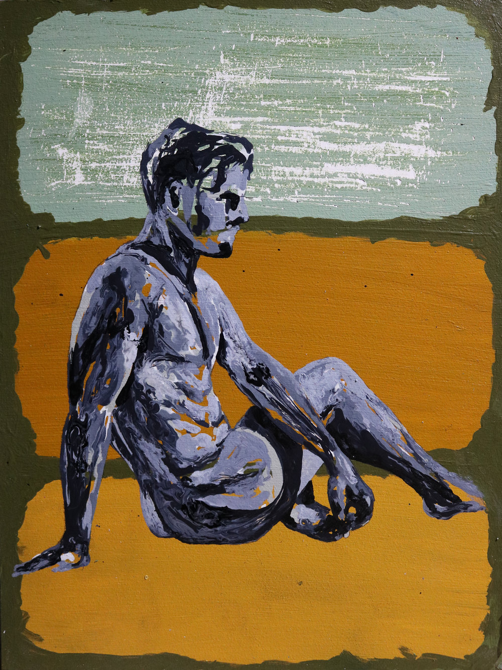 11. Kuhn - _Insecure_- 9x12 - 2018 - Acrylic Ink -  $750.jpg