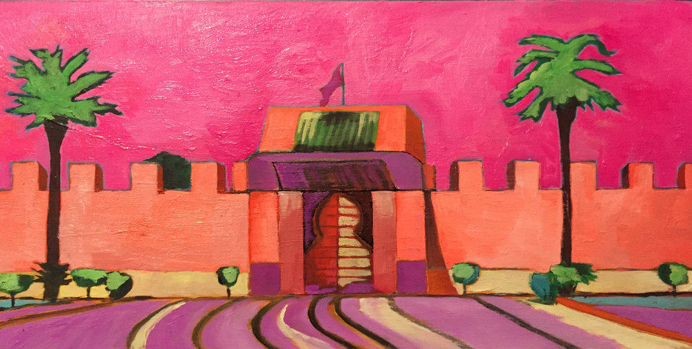 10 Julie Gross_Morocco Neon_6x10_oil on canvas_2018_$300.jpg