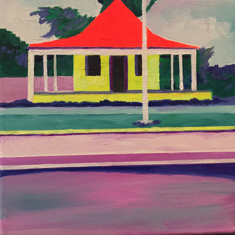 15 Julie Gross_Bahamas House_5x5_Oil on Canvas_2017_$250.jpg