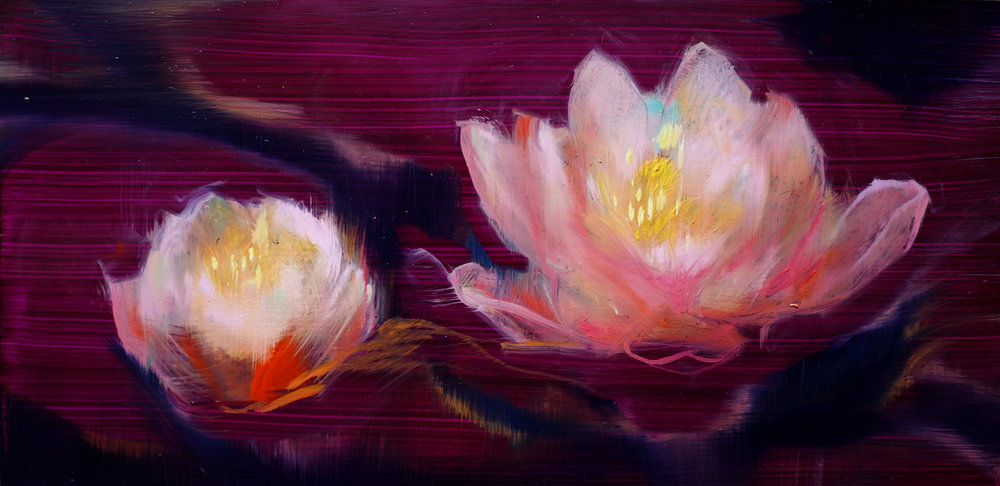 _12_19.YanjunCheng_Lotus05_2018_Oil on Panel_1200.JPG