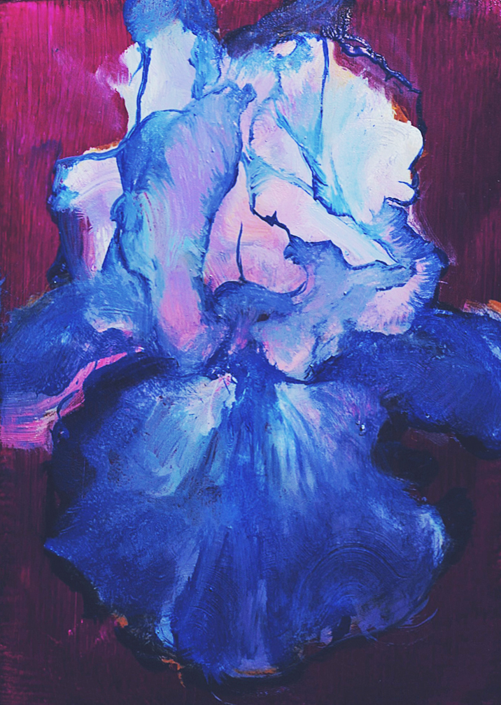 _18_16YanjunCheng_Iris 04_2018_Oil on Panel_600.JPG