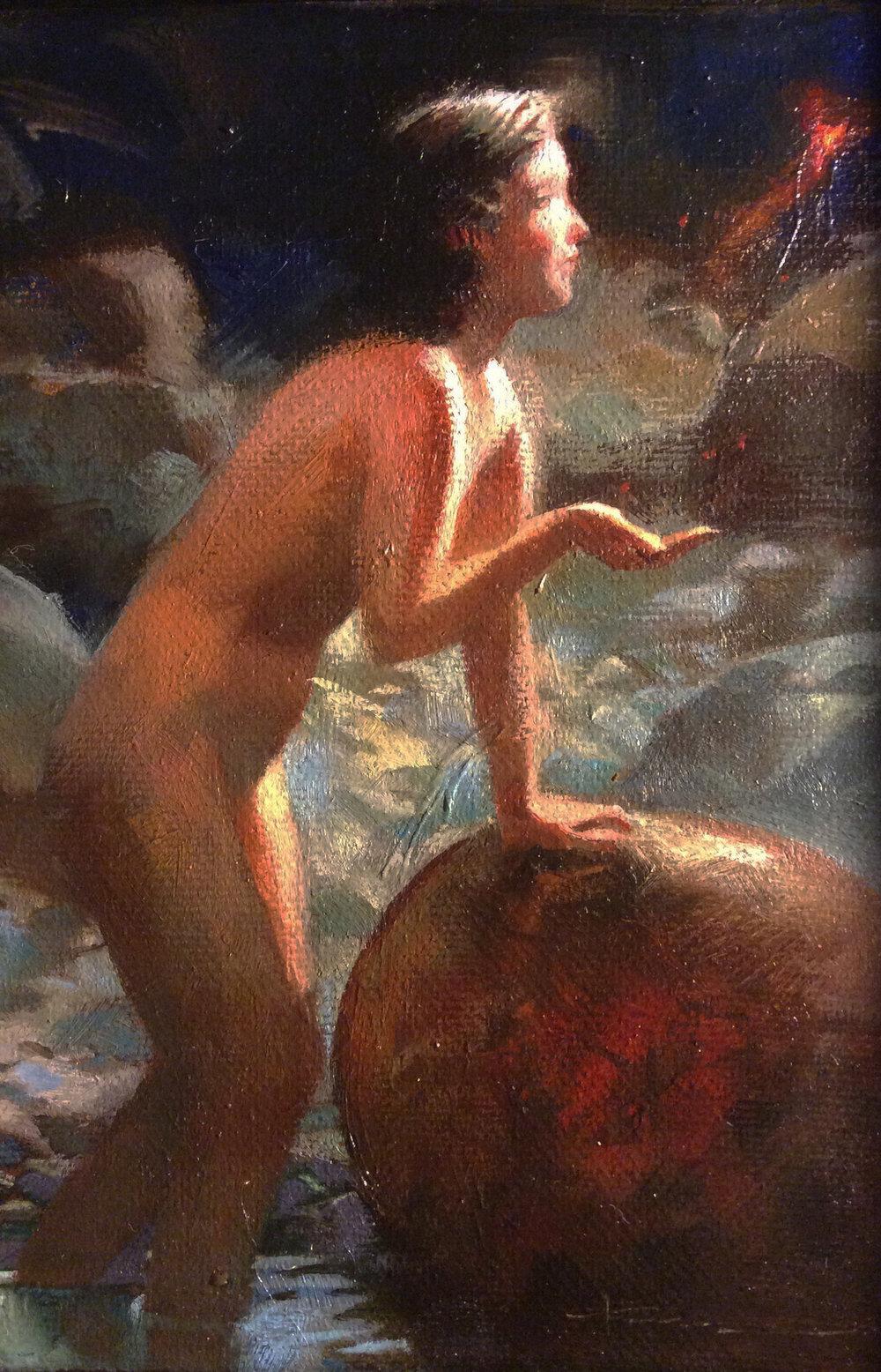 $450  2016  5 x 7  Oil on Canvas_Sibyl #6.jpg