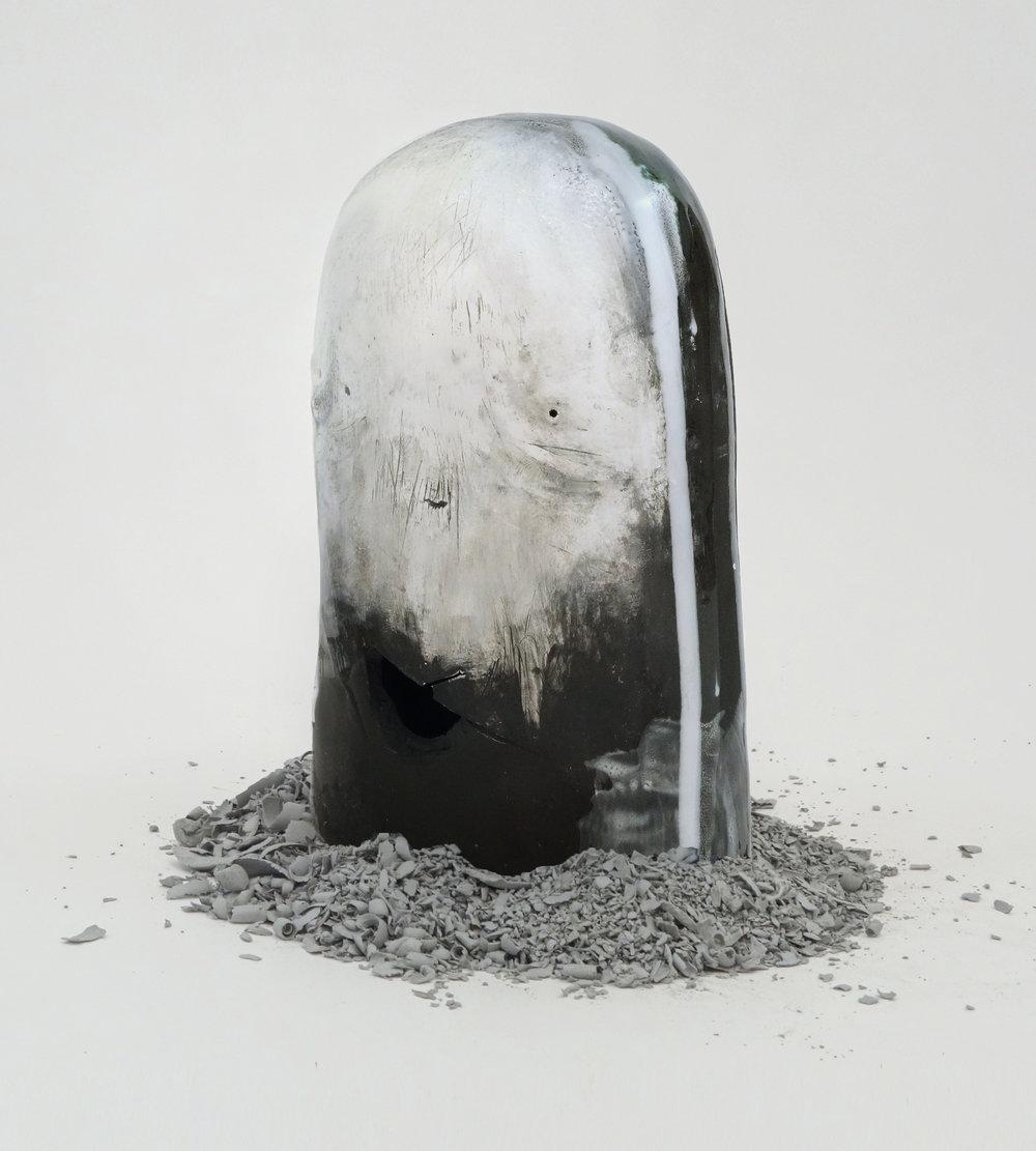 _12_Shamona Stokes-_dark lump III_-9.5_Hx6_Wx4.5_D-Ceramic-2018-$850.jpg