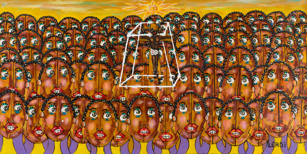 _5_Leroi_The Disciples_24 x 48_2010_Oil and Acrylic on Canvas_$4500.jpg