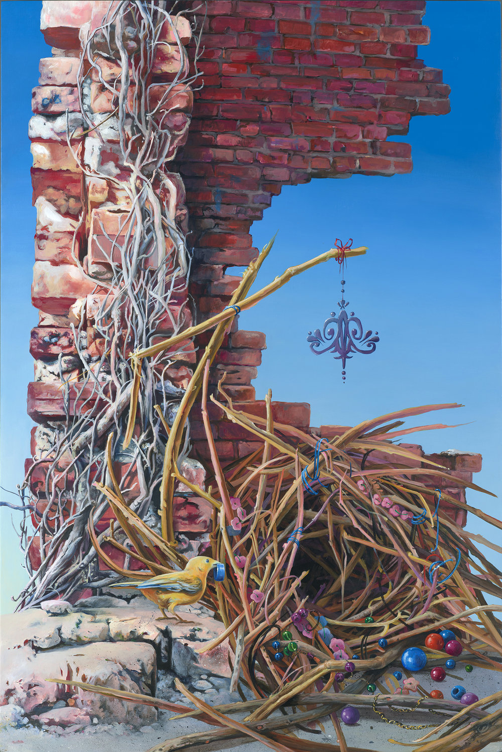 1 Gigi Chen-_A Structure_-24x36 inches-acrylic on wood-2017-$3000.jpg
