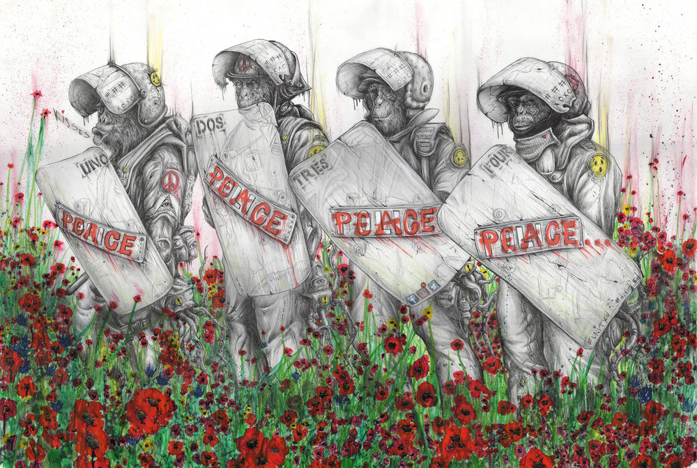 "1 Tai Taeoalii_""Peace""_2017_Ballpoint Pen _ Mixed-Media_55_x48__$8500.jpg"