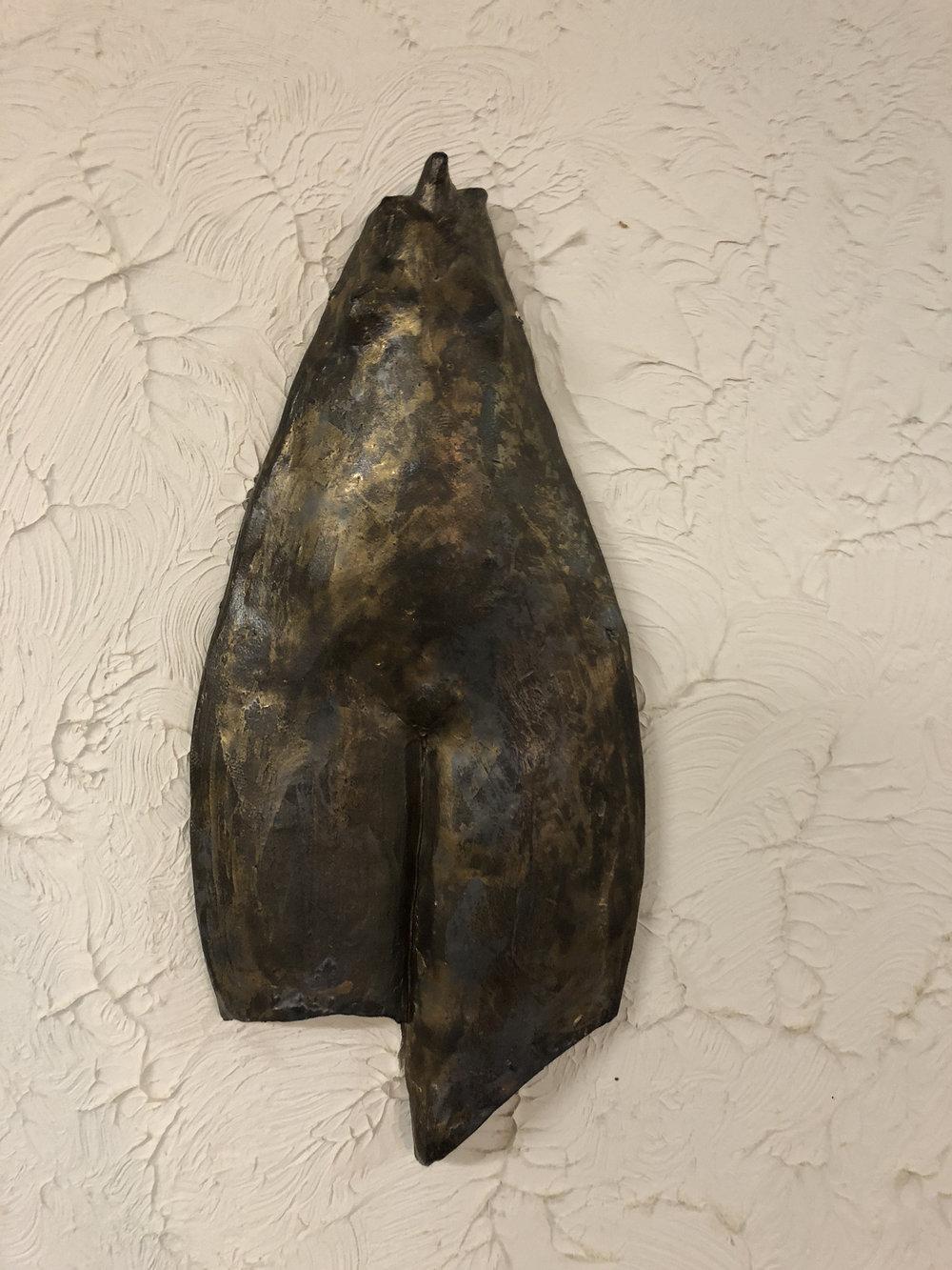 Ceres-Jo-Ann Brody-Torso3-stoneware, oxides-12.75 x 5.5 x 1-$425.jpg