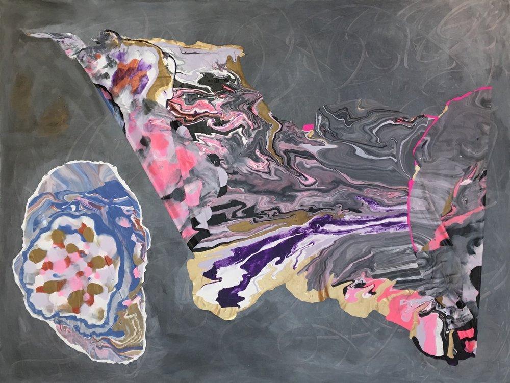 Clara Arts_Norman Lasca_ #3_ 2017_ mixed media on canvas_ $5,000.jpg