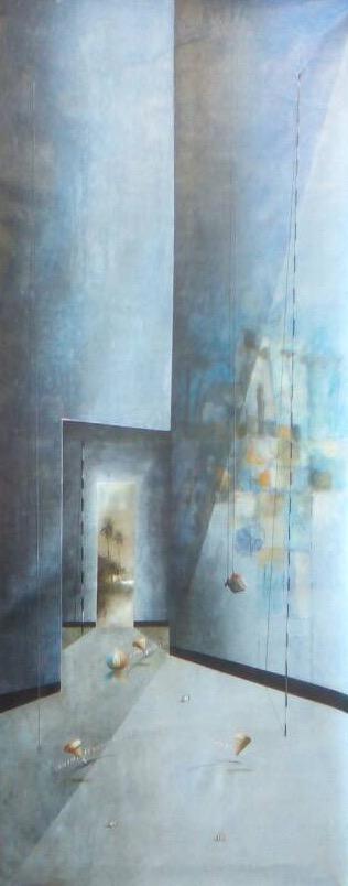 D-Gallerie_Jose Cordova _  Macuro_ 17_x48__Acrylic on Canvas_ 2018_$950.jpg