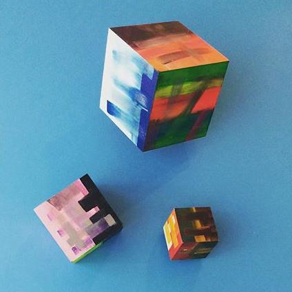 D-Gallerie_Rachel Villasmil_3D Cubes_(1)12_x12_ (2)10_x10_ (3) 7_x7__ MDF Wood_2014_$350.jpg