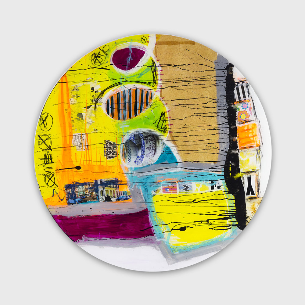 Top of The South Gallery_Alexandra Salazar_Tea Time_3f eet diameter_Acrylic on Acrylic_2017_$1,320.00.jpg