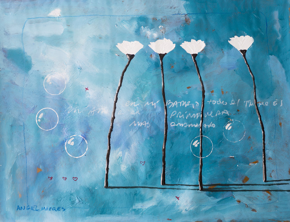 1 Top of the South Gallery_Angel Mieres_Primavera Azul_35x26_Acrilic on canvas_2017_$780.jpg