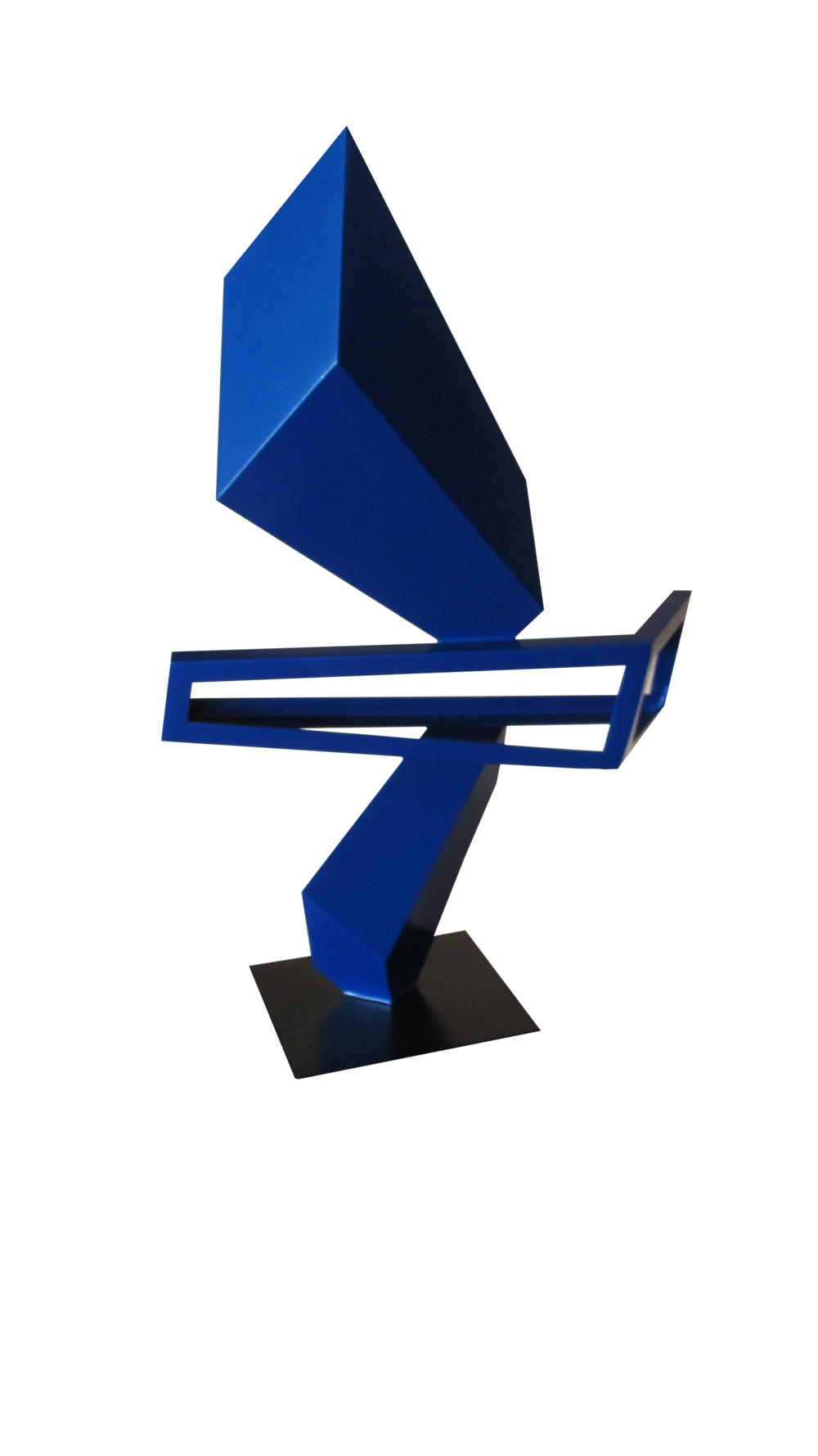 Top of The South Gallery_Raul Perez Martin_Invisible Blue_29.5x18.7_Painted Steel_2017_$710.00.PNG