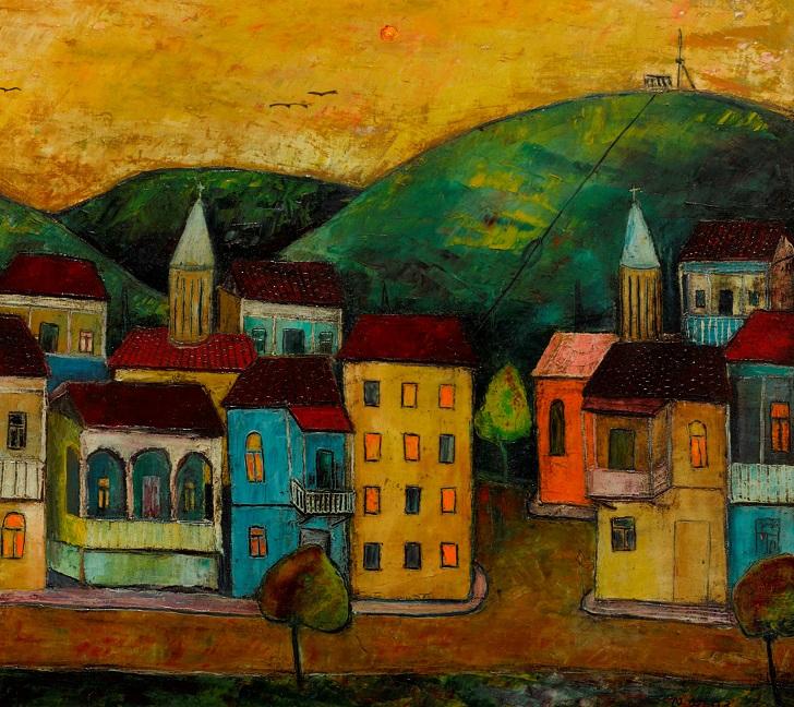 Old Tbilisi. 45x55,oil on canvas,2018.jpg