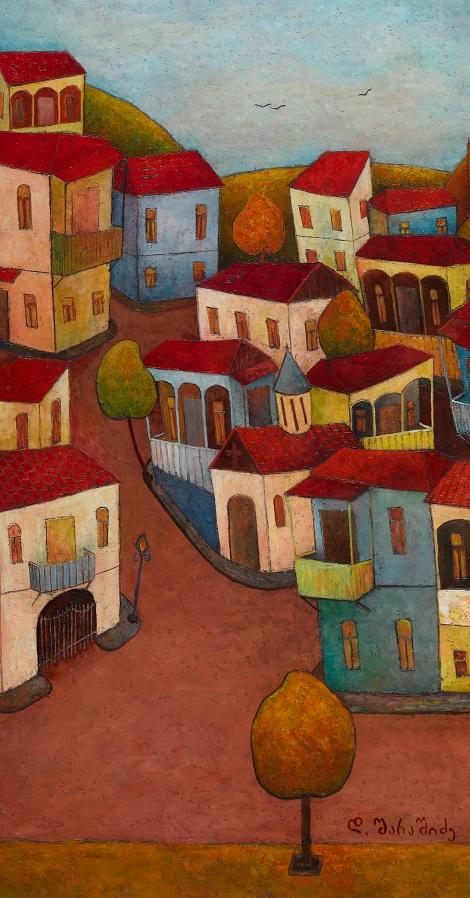 Tbiliso.100x50,oil on canvas, 2018.jpg