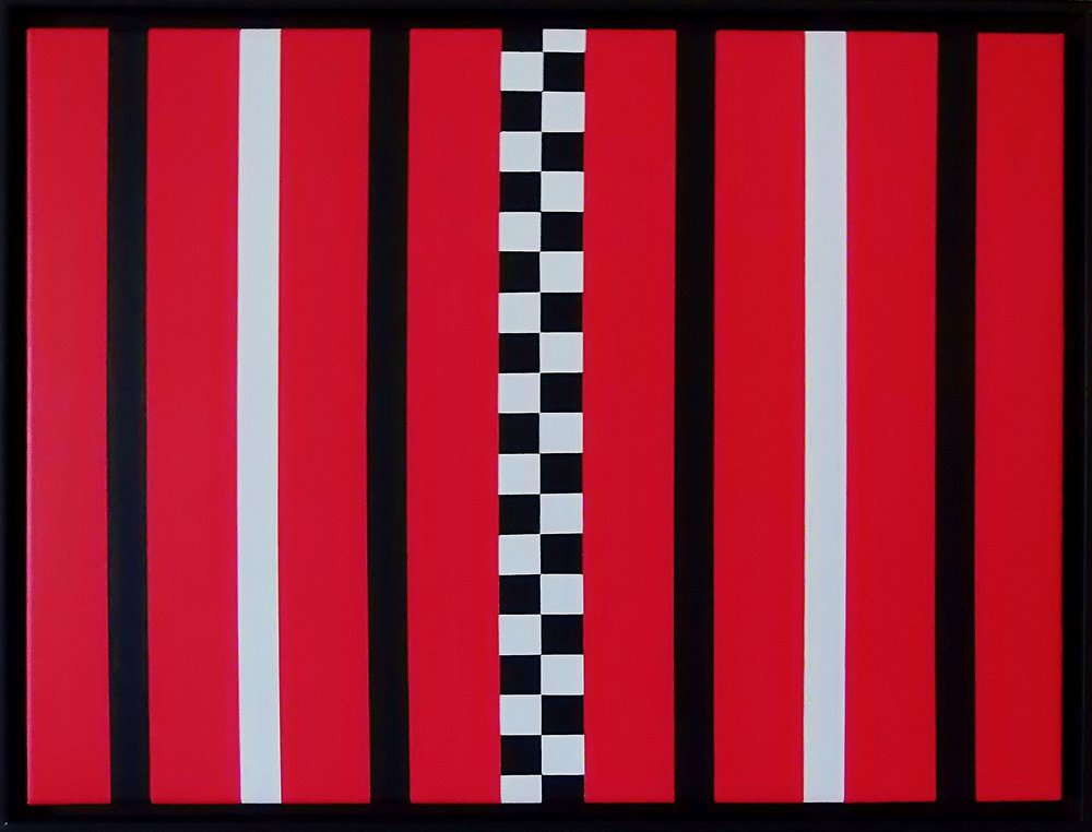 Hue Gallery-Juan Jose Hoyos Quiles-Smack Dab In The Middle-18 x 24 x 1.5-Acrylic on Canvas-2016-$800.jpg