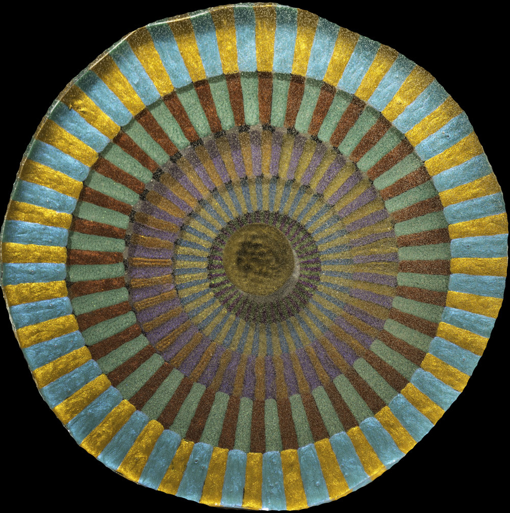 7  Eternal Rays_8in diameter circle_Acrylic Oil Paint and ArtResin_$350.jpg