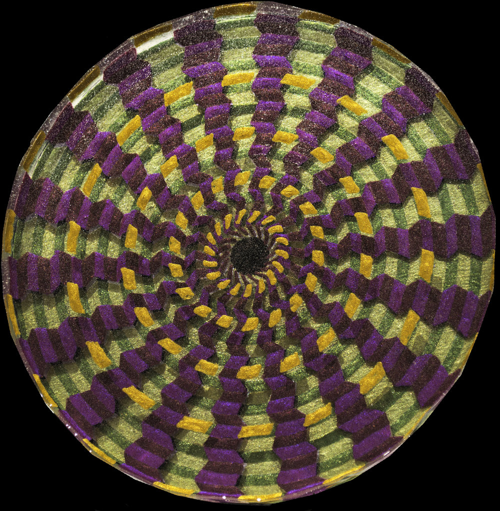 9  Galactica_8in diameter circle_Acrylic Oil Paint and ArtResin_$350.jpg