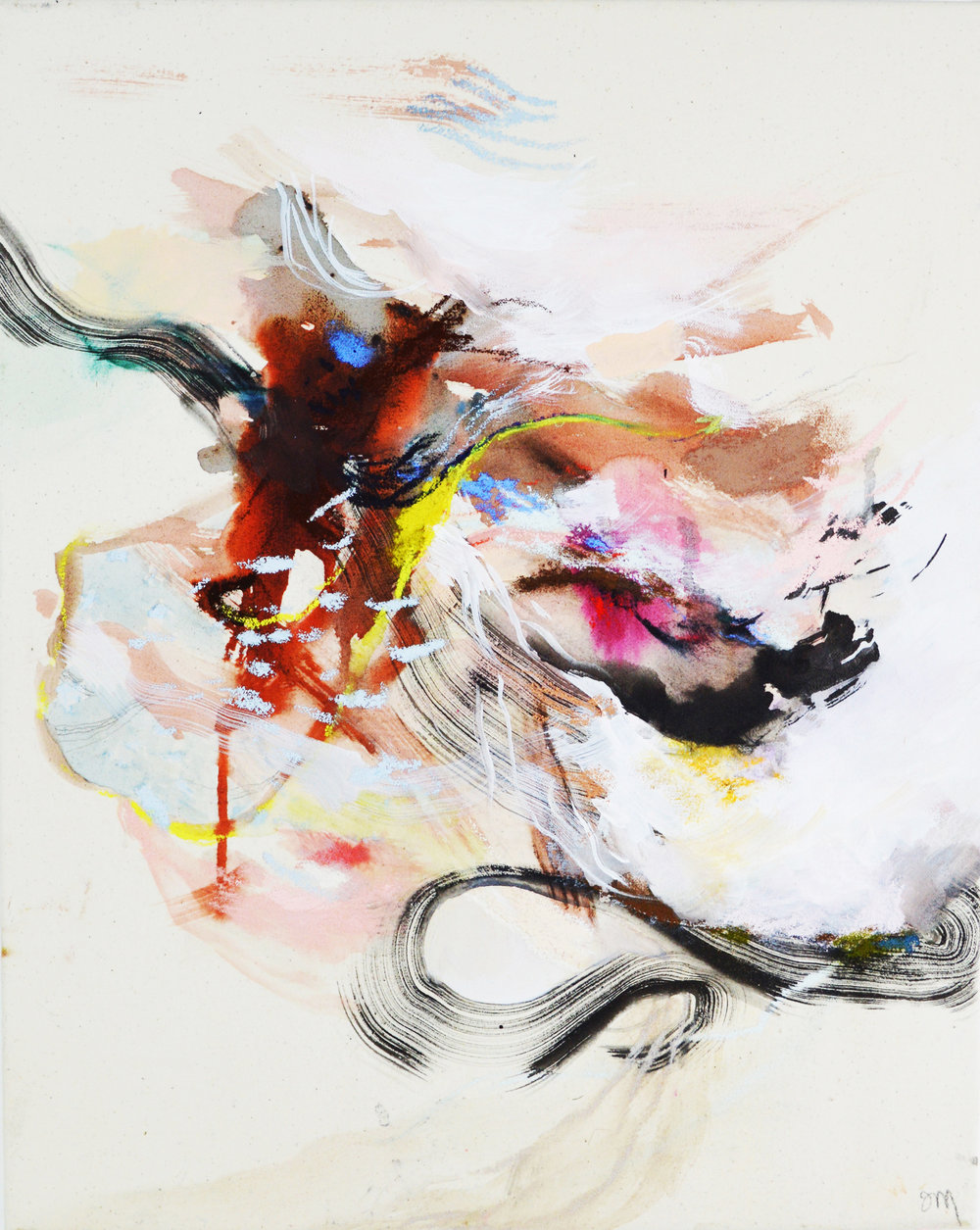 Who said abstract had to be boring? Jessica's works burst with energy, focus, and are extremely powerful.