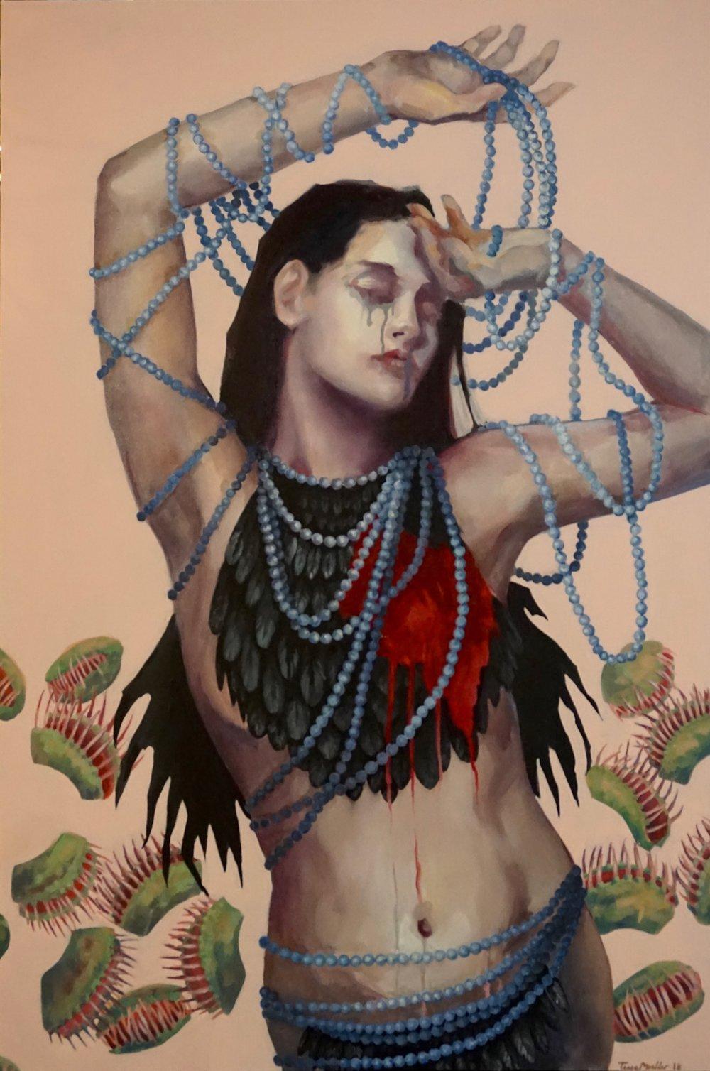 $1,500  2018  24  36  Acrylic & Oil on Canvas_Venus.jpg